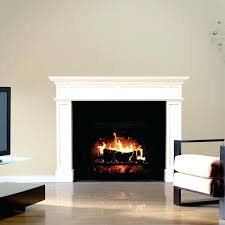 faux fireplace wall decal fake fire light for diy with logs