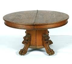 antique round oak pedestal dining table oak pedestal tables antique solid oak dining table amazing great antique round oak pedestal dining table