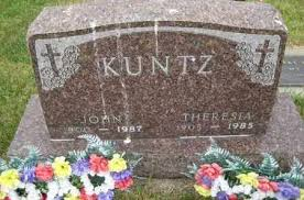 KUNTZ, THERESA - Pierce County, North Dakota | THERESA KUNTZ - North Dakota  Gravestone Photos