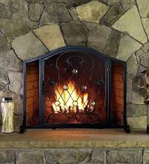 fireplace curtain custom fireplace screen fireplace screens with doors fireplace screen curtain fireplace screens home depot