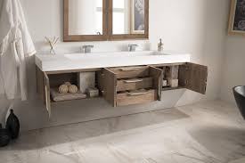 bathroom vanitiy. 72 Inch Floating Double Bathroom Vanity Latte Oak Finish Vanitiy