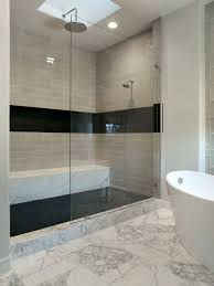 ... Splendid Image Of Bathroom Decoration Using Stand Up Shower Ideas :  Astonishing Picture Of Cream Bathroom ...