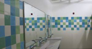Elementary school bathroom Murals School Sandy Hook Elementary School Case Study Mosa Bathroom Installation Diysolarpanelsvcom Sandy Hook Elementary School Case Study Creative Materials