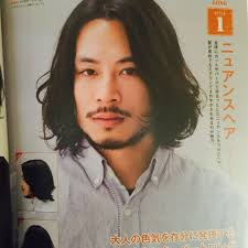 Kenji Suzuki Tierraさんのヘアスタイル メンズのロングスタイルやらせ