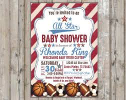 Throw A Sports Theme Baby Shower  Baby Shower Invitations U2013 Cheap Baby Shower Invitations Sports Theme