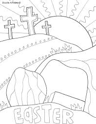 Easy Easter Coloring Pages Religious Religious Coloring Books With