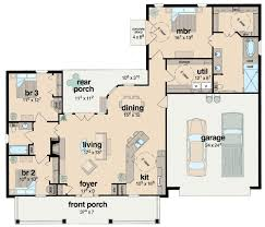 Plan 8423JH: Handicapped Accessible | Southern House Plans ...