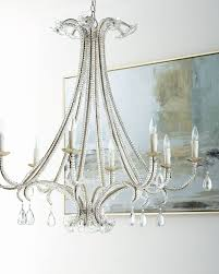 Neiman marcus lighting Horchow Capiz Neiman Marcus Glass Flower 8light Chandelier Neiman Marcus