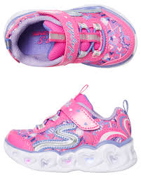 Skechers Toddler Size Chart Girls Heart Lights Shoe Toddler