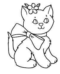 Small Picture Kitty Cat Coloring Pages Bestofcoloringcom