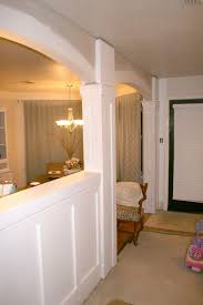 home design room ideas foxy half wall room dividers cute half wall room with half