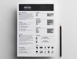 Minimalist Resume Minimalist Cv Resume Templatee Design Stock Vector Stupendous 56