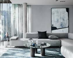 popular grey living room