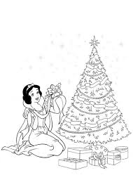 Disegni Da Colorare Principesse Disney Natale Fredrotgans