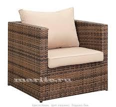 <b>Кресло из искусственного</b> ротанга Лаунж (Lounge) (ротанг ...