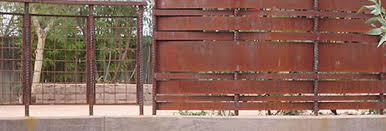 rusted corrugated metal fence. Beautiful Corrugated Rusted Metal Fence Flat Sheet Phoenix Corrugated Sheets  Arizona Corten With T