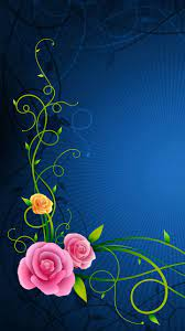 Flowers Lines Patterns Hd Wallpapers ...
