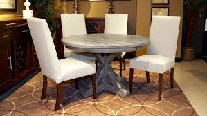 settlers 48 round dining table with victoria side chairs large