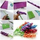 Сделай сам из бумаги цветок ландыши
