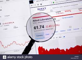 Yahoo Charts Montreal Canada June 22 2018 Abbott Laboratories Ticker