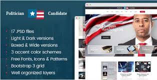 Political Website Templates Best Political Psd Website Templates Of 2019