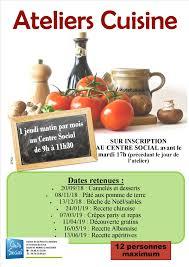 Ateliers Cuisine Centre Social Du Canton De St Pierre Le Moûtier