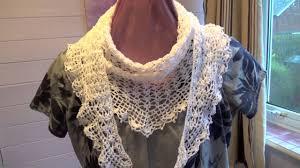 Crochet Lace Shawl Pattern