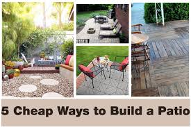 inexpensive patio ideas diy. How To Make A Cheap Patio - Home Design Ideas And Pictures Cheapest Way Inexpensive Diy T