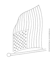 Small Picture July 4th Coloring Pages Color the American Flag Coloring Page