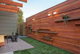 horizontal wood fence panels. Image Of: Horizontal Fence Panels Modern Wood