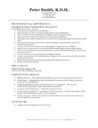 Dental Assistant Resume Template Magnificent Dental Hygiene Resume Templates Dental Assistant Resume Template