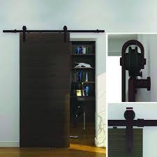 com everbilt dark oil rubbed bronze steel decorative sliding door hardware home improvement