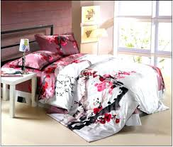 cherry blossom bedding sheets duvet cover japanese set comforter cotton q cherry blossom comforter set duvet cover