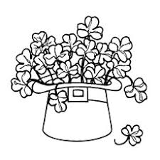 Shamrock Coloring Page Top 20 Free Printable Four Leaf Clover Coloring Pages Online