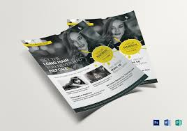 barber flyer beauty barber flyer design template in psd word publisher