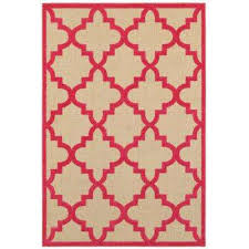 marina pink 8 ft x 11 ft outdoor area rug