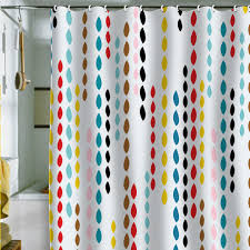 image of modern shower curtains fabric