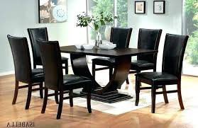 dark wood table with light chairs tablecloth pub sets modern dining room for 6 cool on amazing tables kitchen remarkable