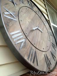 wall ideas bedroom teenager clock