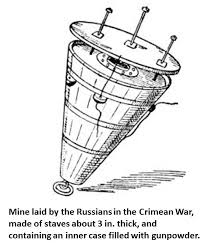 """dawlish chronicles 2016 in view of my interest in such weapons systems i was fascinated recently to sketches of early mines in a publication called """"the british navy book"""" by"""