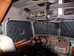 Volvo Premium Contemporary Window Covers Semi Trucks Interior Truck Interior Volvo
