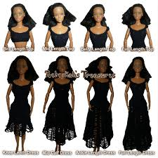 Barbie Doll Clothes Patterns Gorgeous Rebeckah's Blog Rebeckah's Treasures