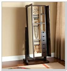 mirror stand jewelry box mirror storage elegant dressing room with full length jewelry for intended prepare