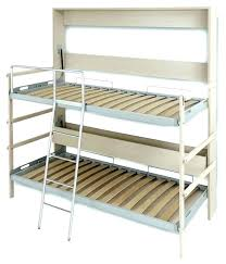 folding bunk bed trailer fold up beds for enclosed with out led bedrooms drop gorgeous