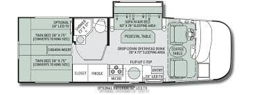 rv floor plans. Thor-Axis-24.2-Motorhome-Floor-Plan | Motorhome Reviews Pinterest Thor And Rv Floor Plans