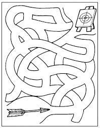 Doolhof Vind En Print Bliksemsnel Een Kleurplaat Ukkonl