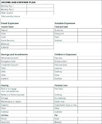 Monthly Income And Expenses Income And Expenditure Template Excel