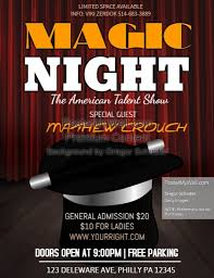 talent show flyer template free customizable design templates for talent show postermywall