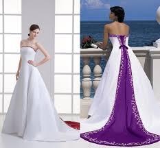 white and purple wedding dress dress ty