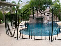 metal fence styles. Selection Of Material For Your Fence Is An Important Decision. When It Comes To Styles, Multiple Materials May Be Used Accomplish The Same Fence. Metal Styles
